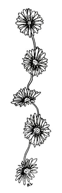 Daisy Chain Tattoo Daisy chain tattoo, Chain tattoo
