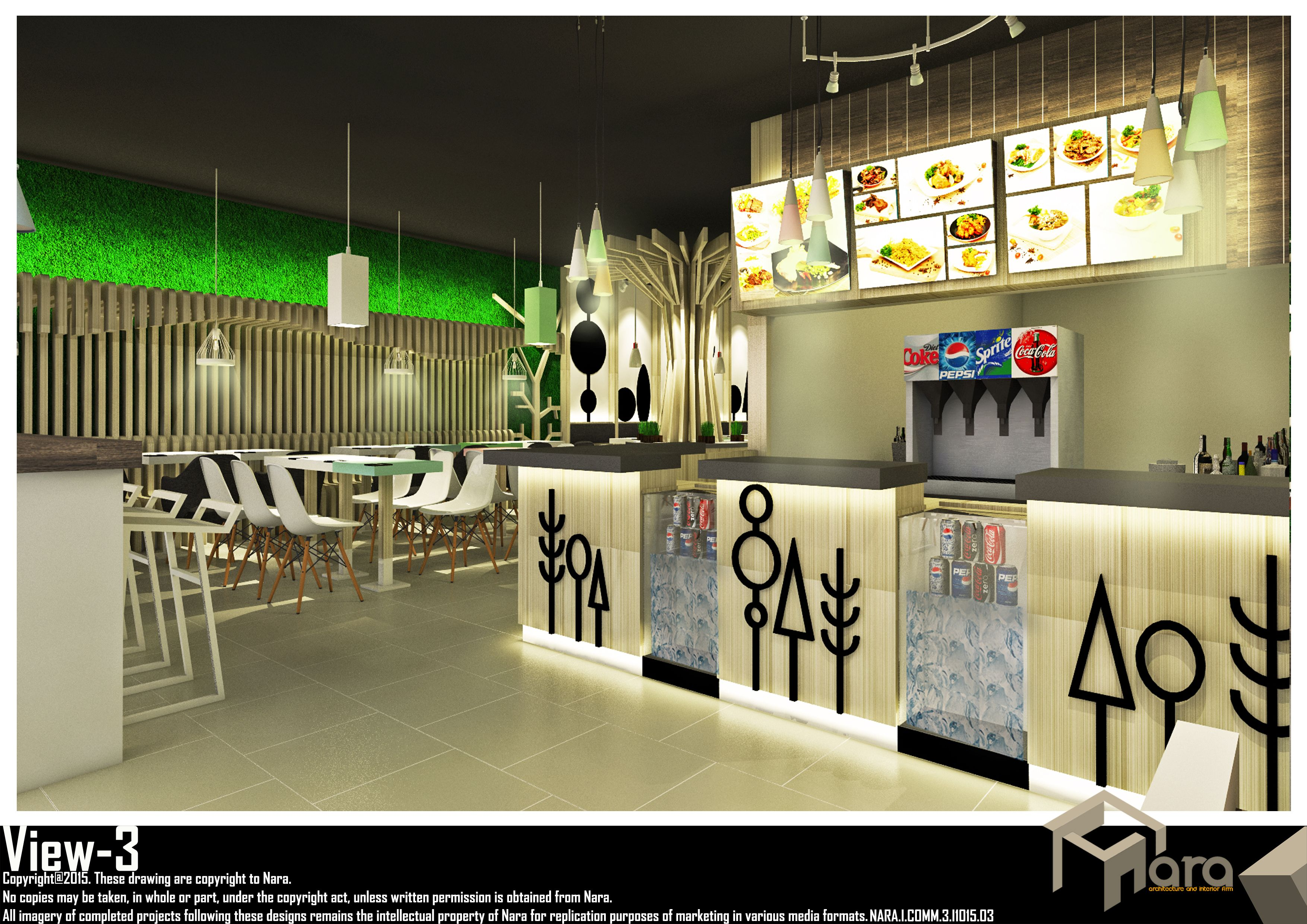 Interior Resto Raozen View - 3   nara.architects@gmail.com  