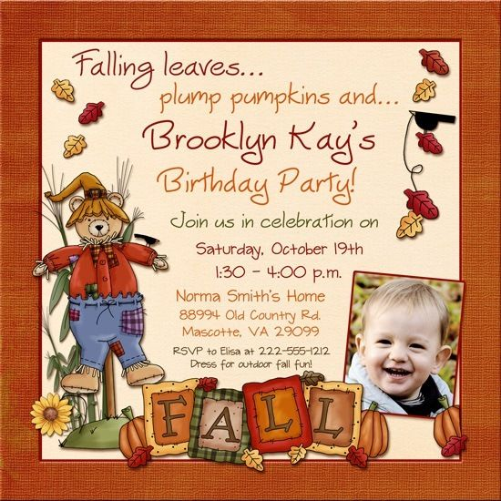 Nice fall birthday invitations ideas download this invitation for explore fall birthday invitations and more filmwisefo Images