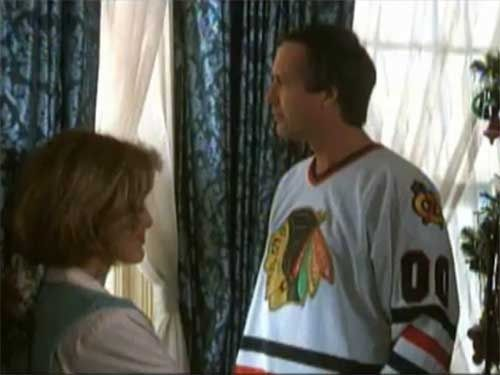 Clark Griswold Wearing His Griswold 00 Jersey In National Lampoons Hockey Trikot