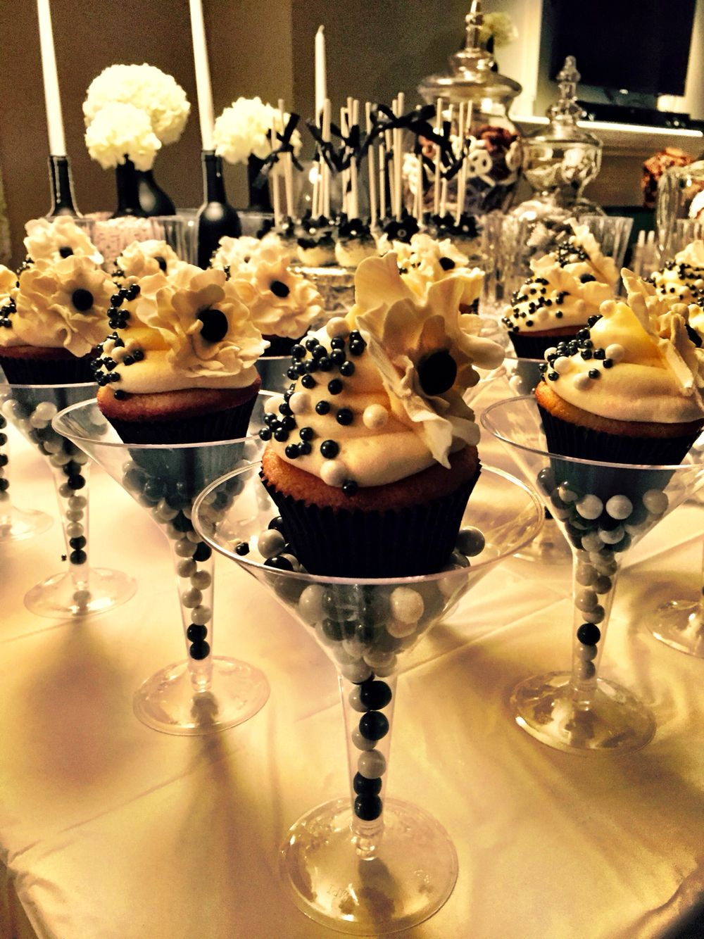 Cupcakes In Martini Glasses Lush Ious Cupcakes In 2019
