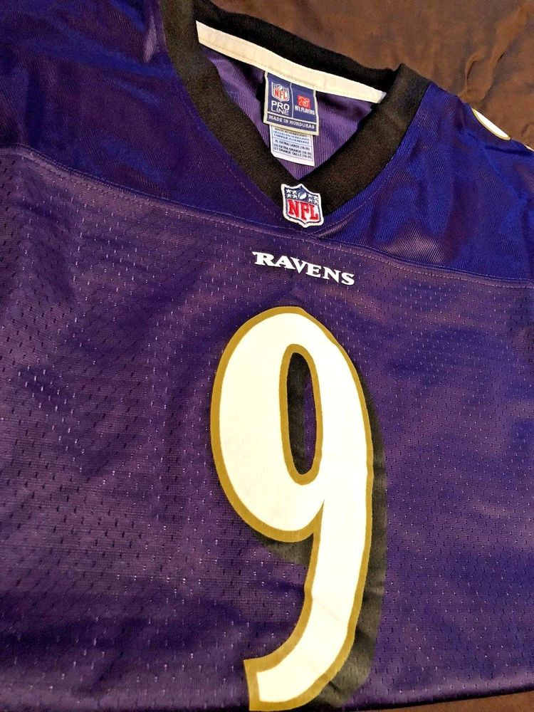 04d25279b Pro Line Baltimore Ravens NFL Jersey  9 Justin Tucker YOUTH Boys Sz XL NWT  NEW