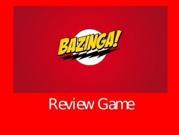 This powerpoint template can be used and edited for your class its bazinga review game template toneelgroepblik Images