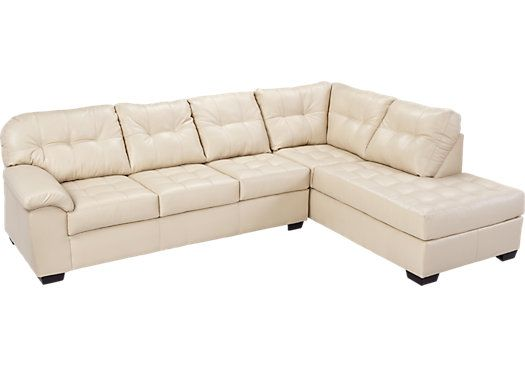 Sleeper Sectional Roomstogo Com Leather Sectional At Home