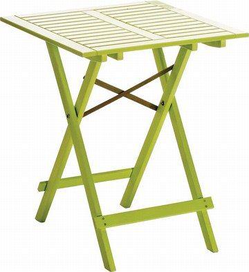 Table pliante Cabourg chez botanic - Décoration : Mobilier ...