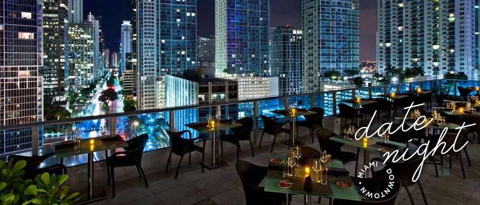 Date night downtown downtown miami miami and opportunity for Zuma miami terrace