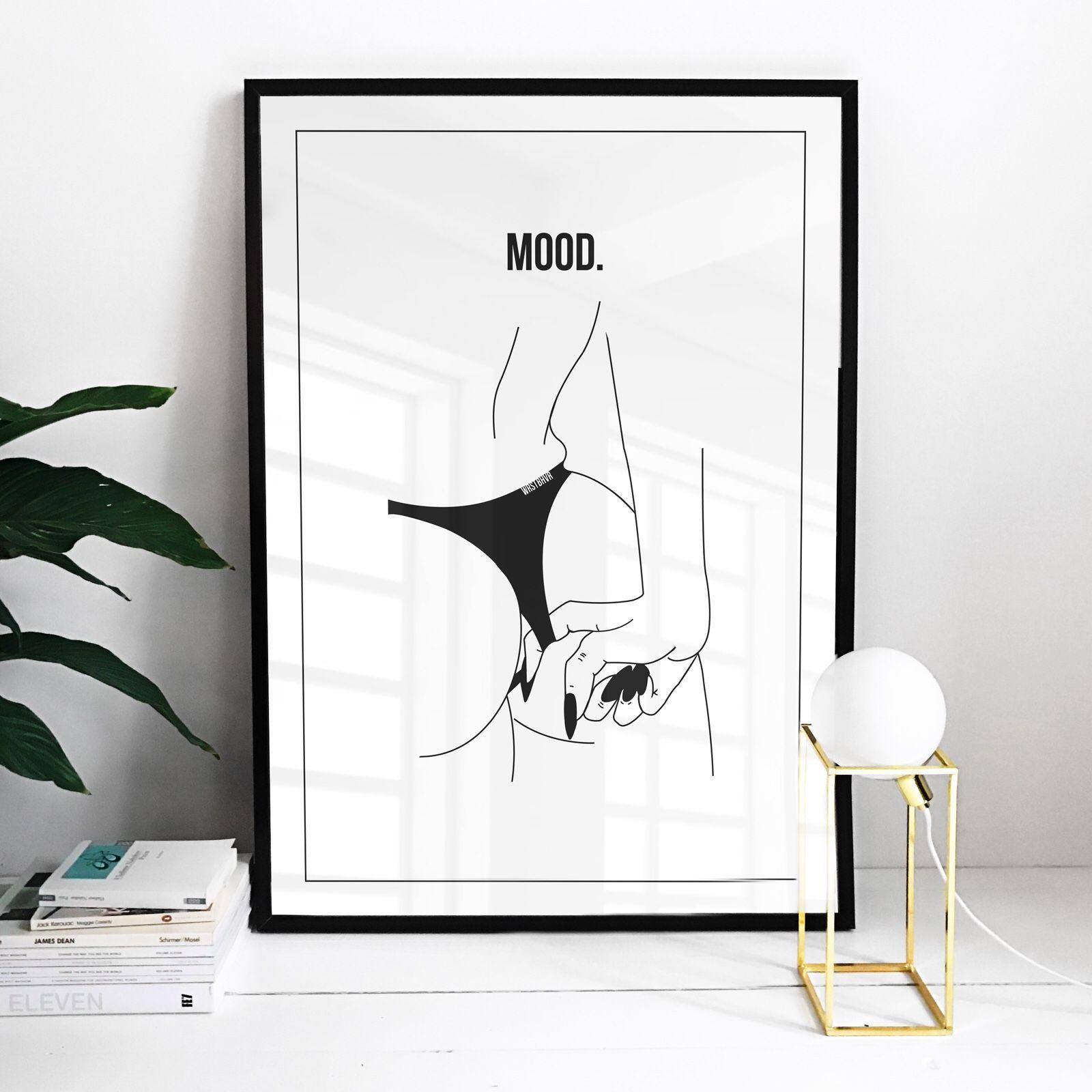 Moody booty poster | Pinterest | Vermeiden, Rahmen und Poster