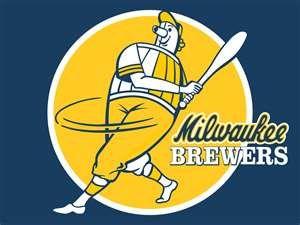Milwaukee Brewers Logo Brewer Logo Mlb Logos Milwaukee Brewers