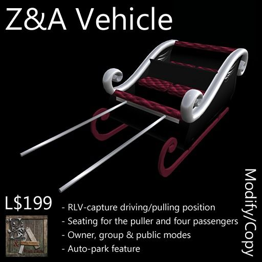 Z and A Vehicle (Sleigh)
