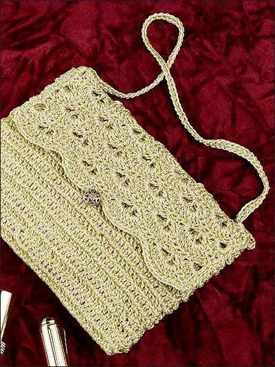 Crochet Accessories Crochet Purse Patterns Free Crochet Evening