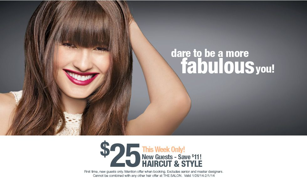 Ulta Beauty 25 Haircut Printable Coupon Coupons Pinterest