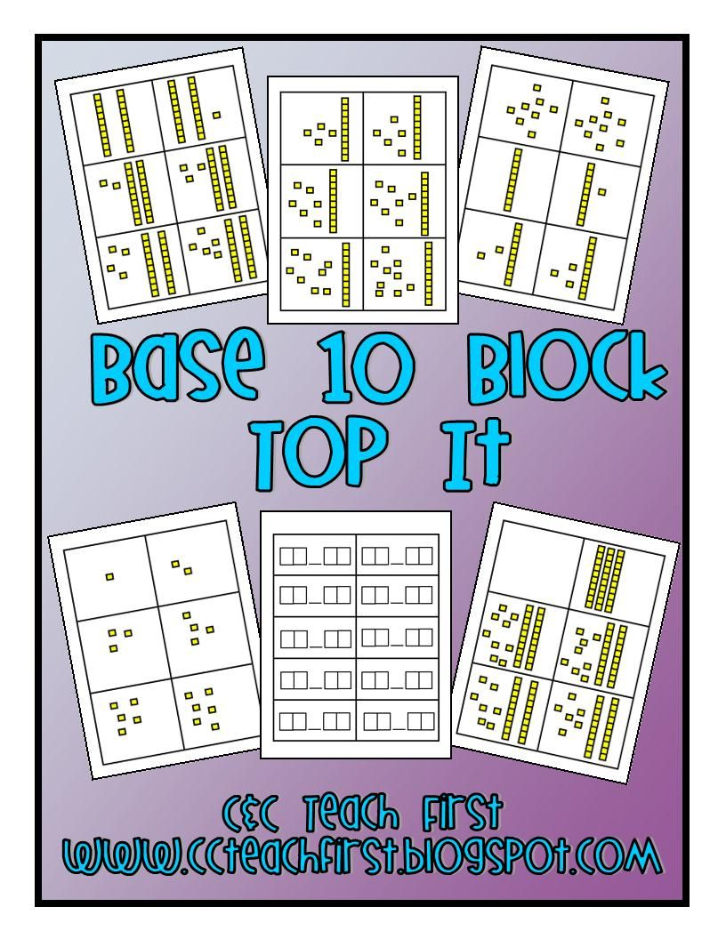 Clip Art by Carrie Teaching First Teaching, Base 10