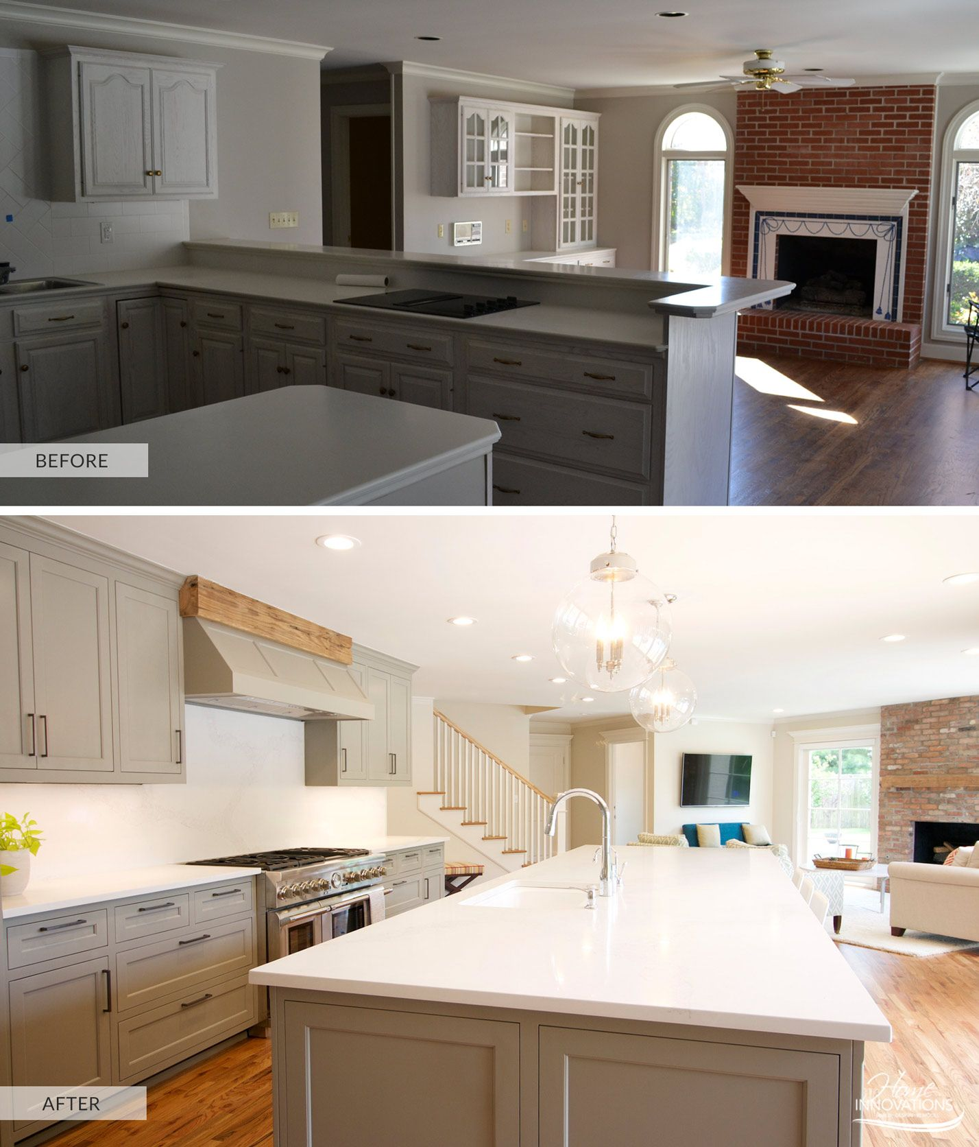 Tulsa, OK - Kitchen With Caesarstone