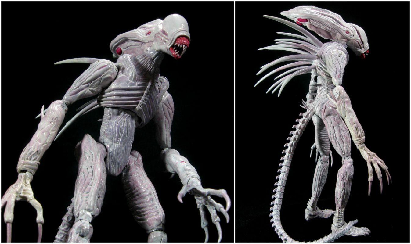 Neomorph Queen (Aliens) Custom Action Figure | Custom ...