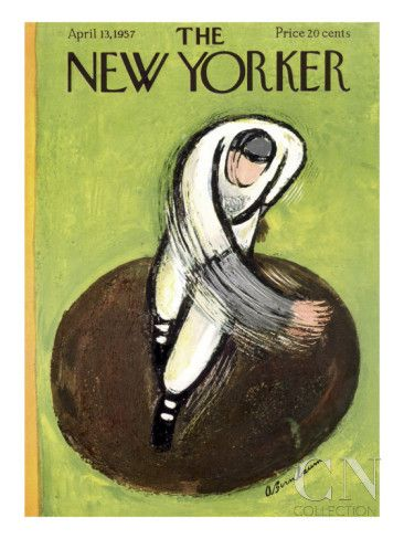 The New Yorker Cover - April 13, 1957 Poster Print by Abe Birnbaum at the Condé Nast Collection