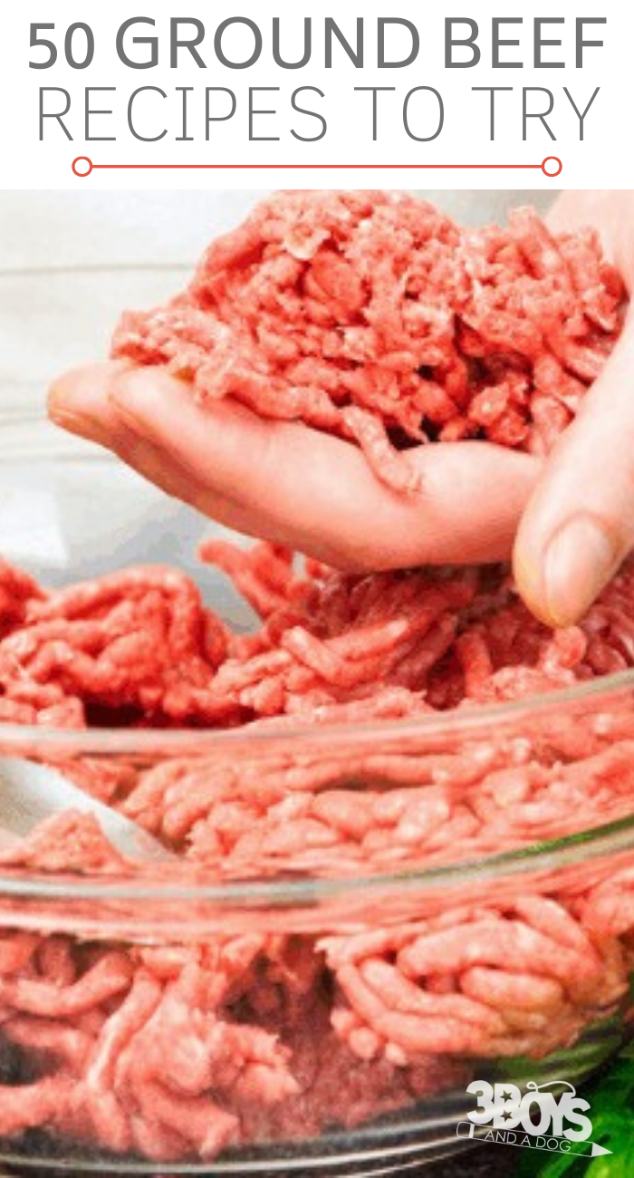 Over 50 Hamburger Meat Recipes Ground Beef Recipes Easy Beef Recipes Beef Recipes For Dinner
