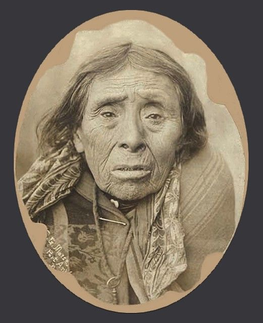 Makah Man, Washington, Ca.1895. - Photo Possibly Taken In The Port Angele's Area.