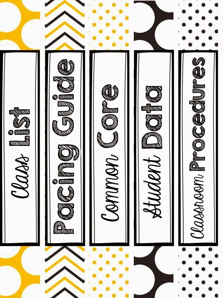 Goodbye July Aloha August With Images Binder Spine Labels