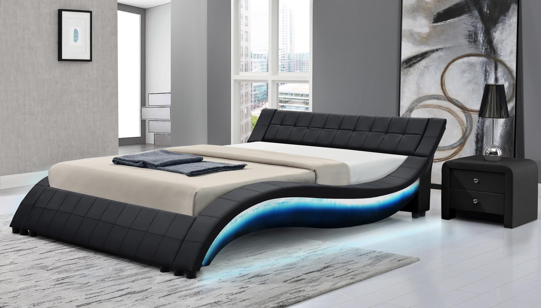 Milo Italia Aurora Main Image Bed Design Modern Bedroom