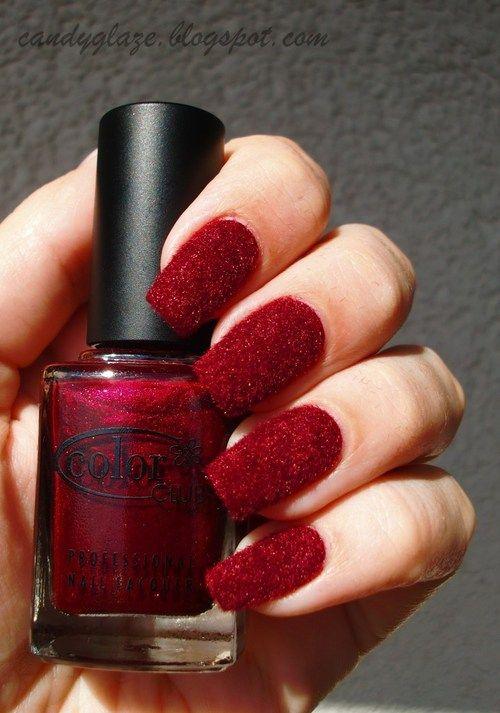 red velvet nails