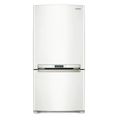 20 cu ft bottom freezer refrigerator samsung rb215acwp kitchen