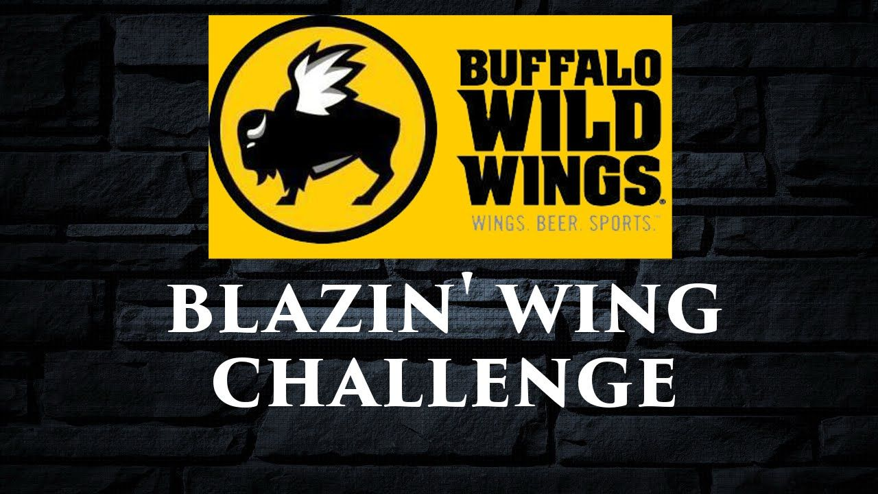 Small Crop Of Buffalo Wild Wings Blazin Challenge