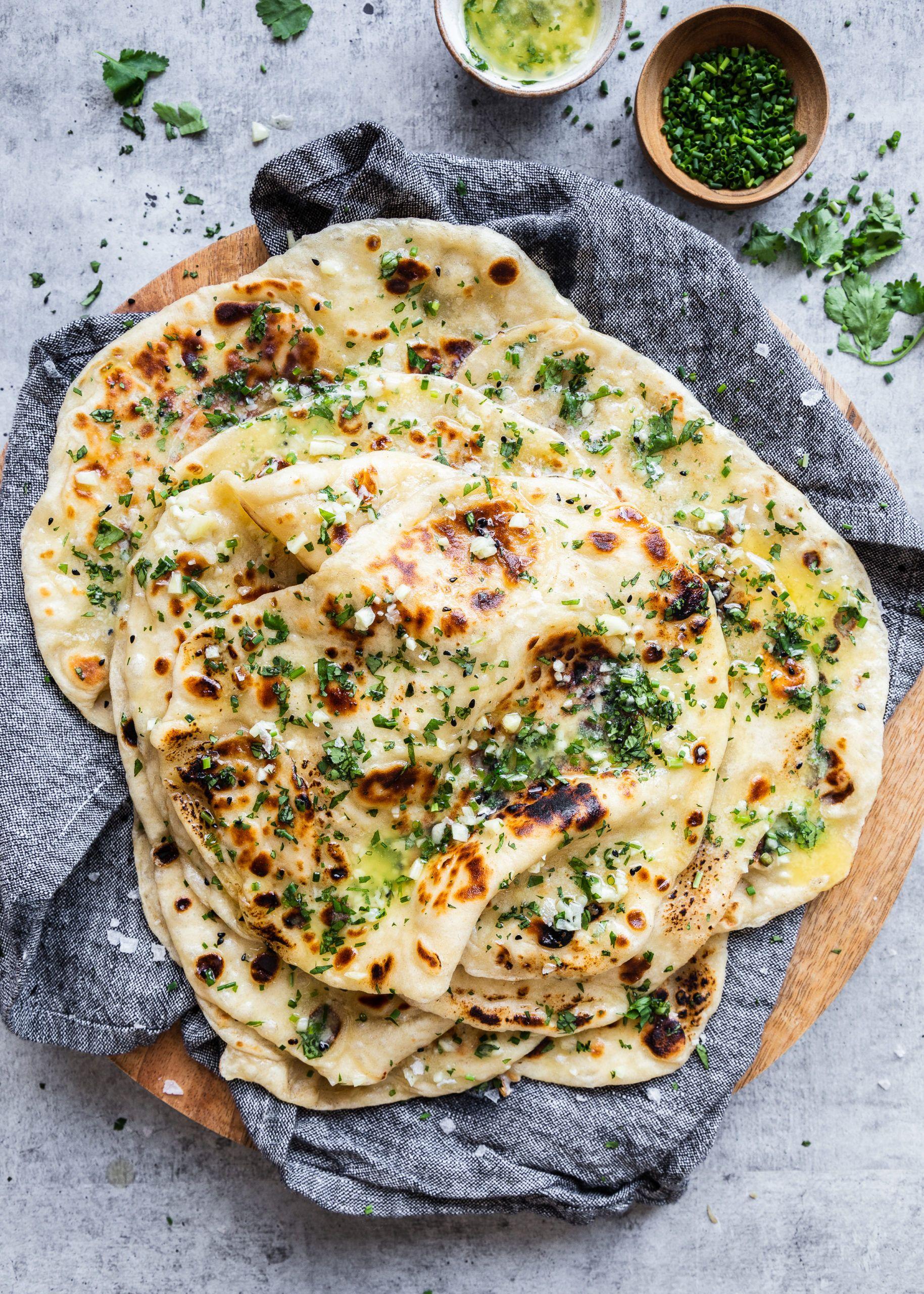 Food Photography - Rachel Gurjar in 2020 | Garlic naan ...