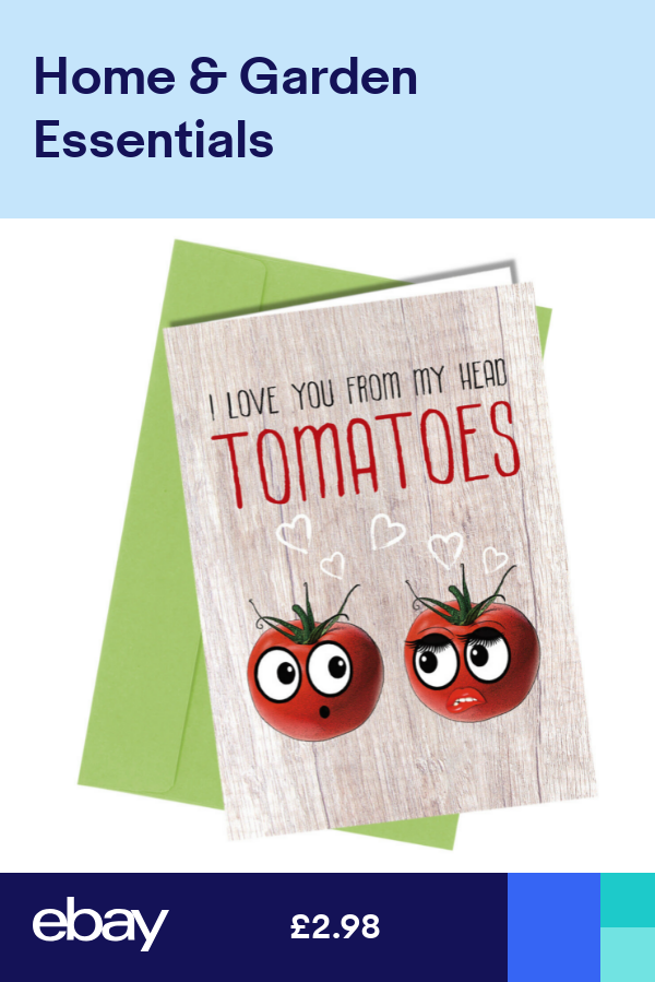 #174 VALENTINE or BIRTHDAY CARD ADULT HUMOUR Funny Rude Tomatoes Card