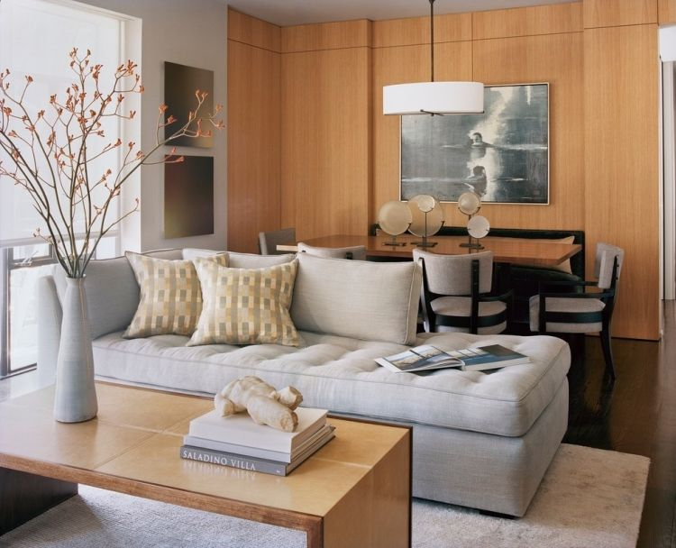 20 Ideen für moderne Wohnzimmer \u2013 Einrichtung in neutralen Farben - farbe wohnzimmer ideen