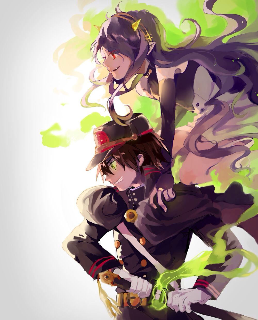 Yu and his cursed weapon Owari no seraph, Seraph of the