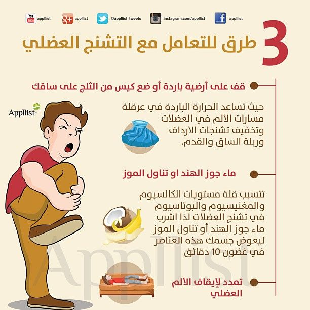 3 طرق للتعامل مع التشنج العضلي Health Fitness Nutrition Health And Nutrition Health Advice