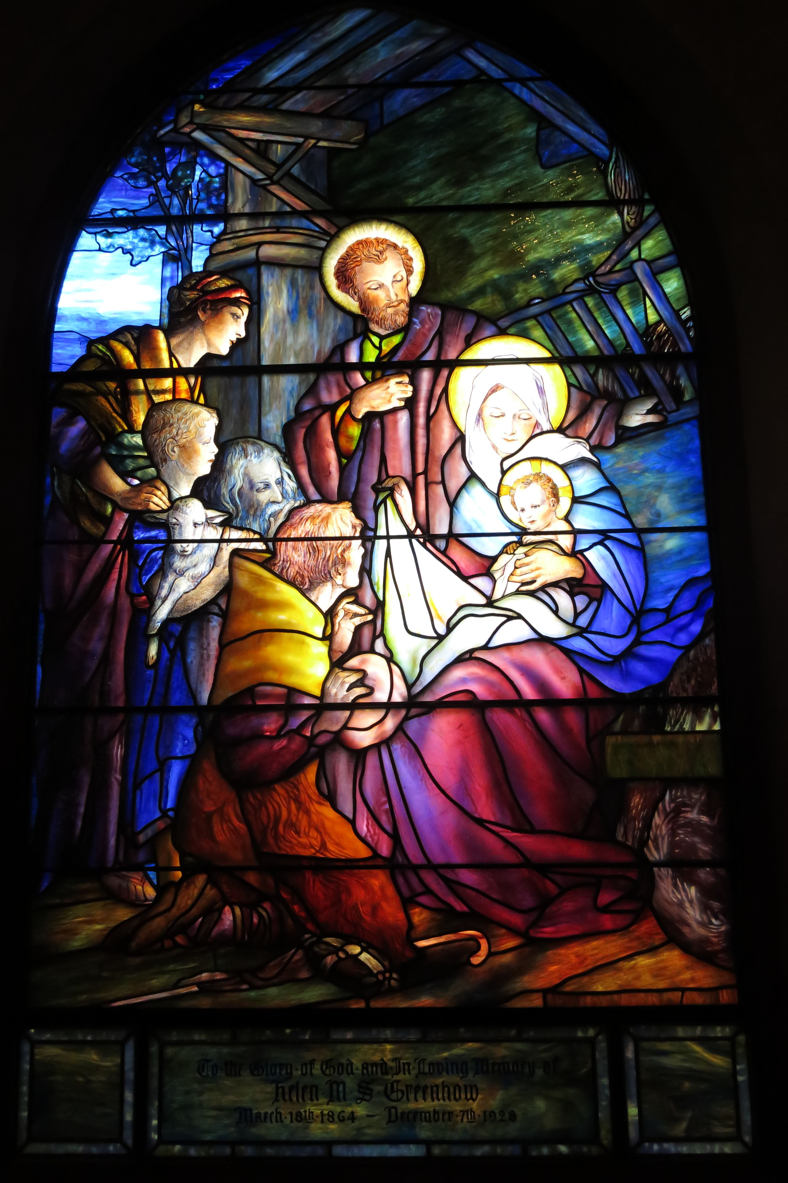 An Amazing Timeline Collection Of Tiffany Windows Reside At This Beautiful Church In Hornell Ny Along The Tiffany And Treasures Trail Fire Art Art Painting