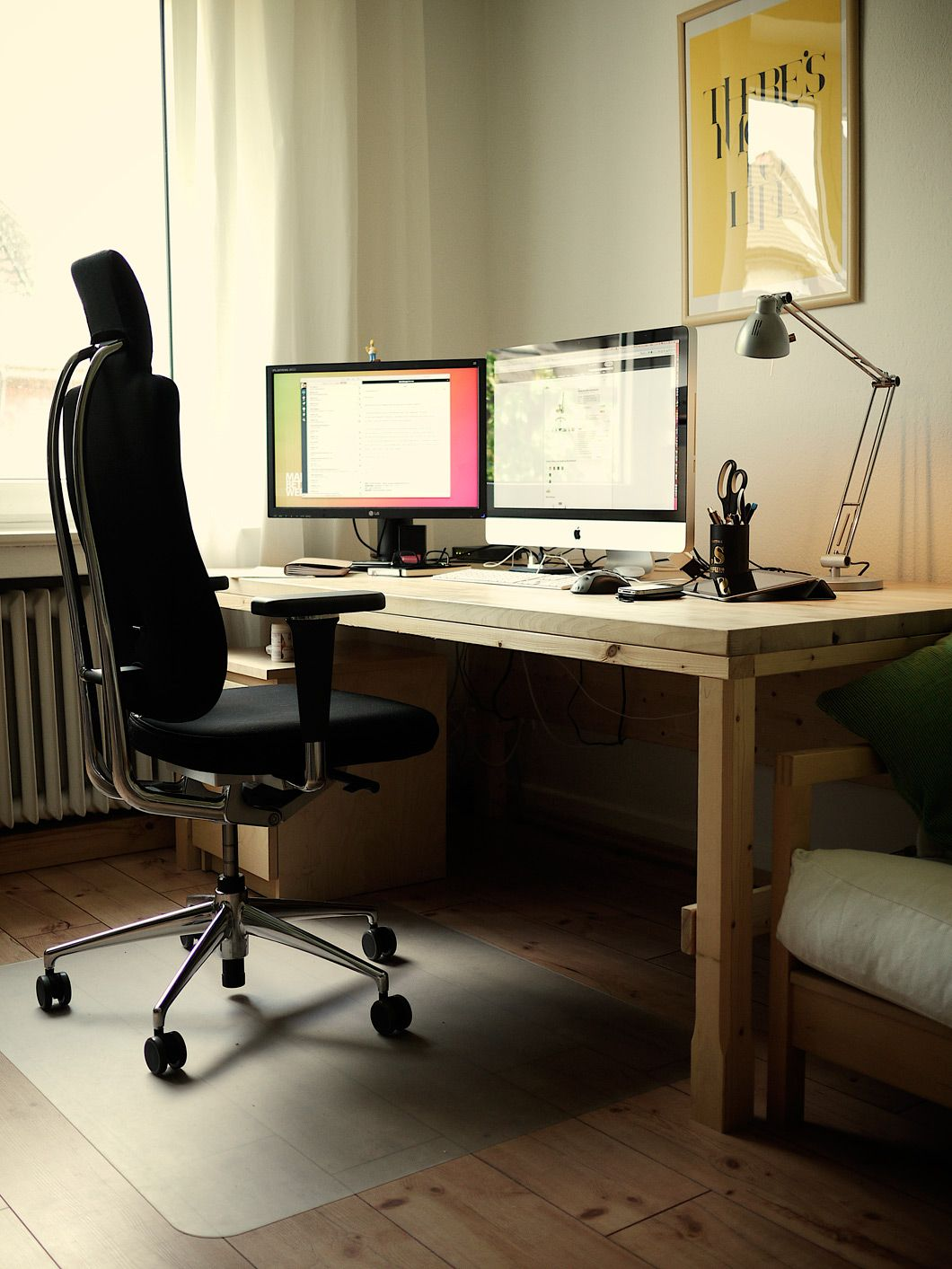 home office workspace. In This Series We Showcase Inspirational Office Workspaces To Help You Design Your Own Office. Is Meant Enhance Workspace Home P