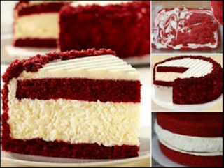 new cooking recipes: Red Velvet Cheesecake