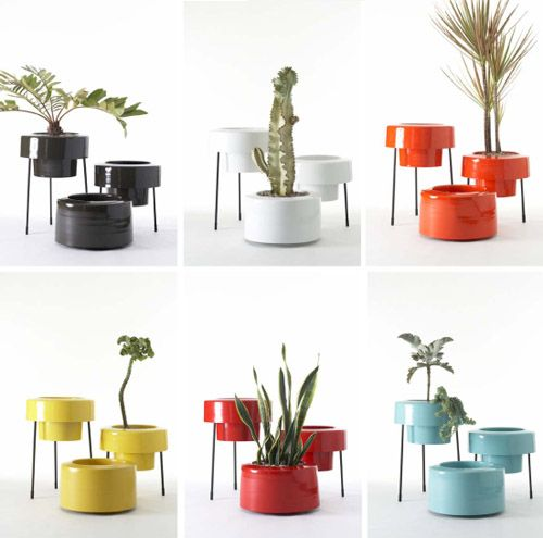 Modern Indoor/outdoor Planters From PAD... Yes, Please!
