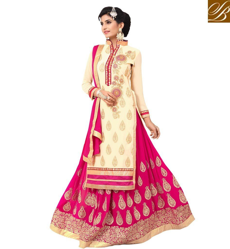 Amazing designer salwar lehenga suit design latest indian punjabi ...