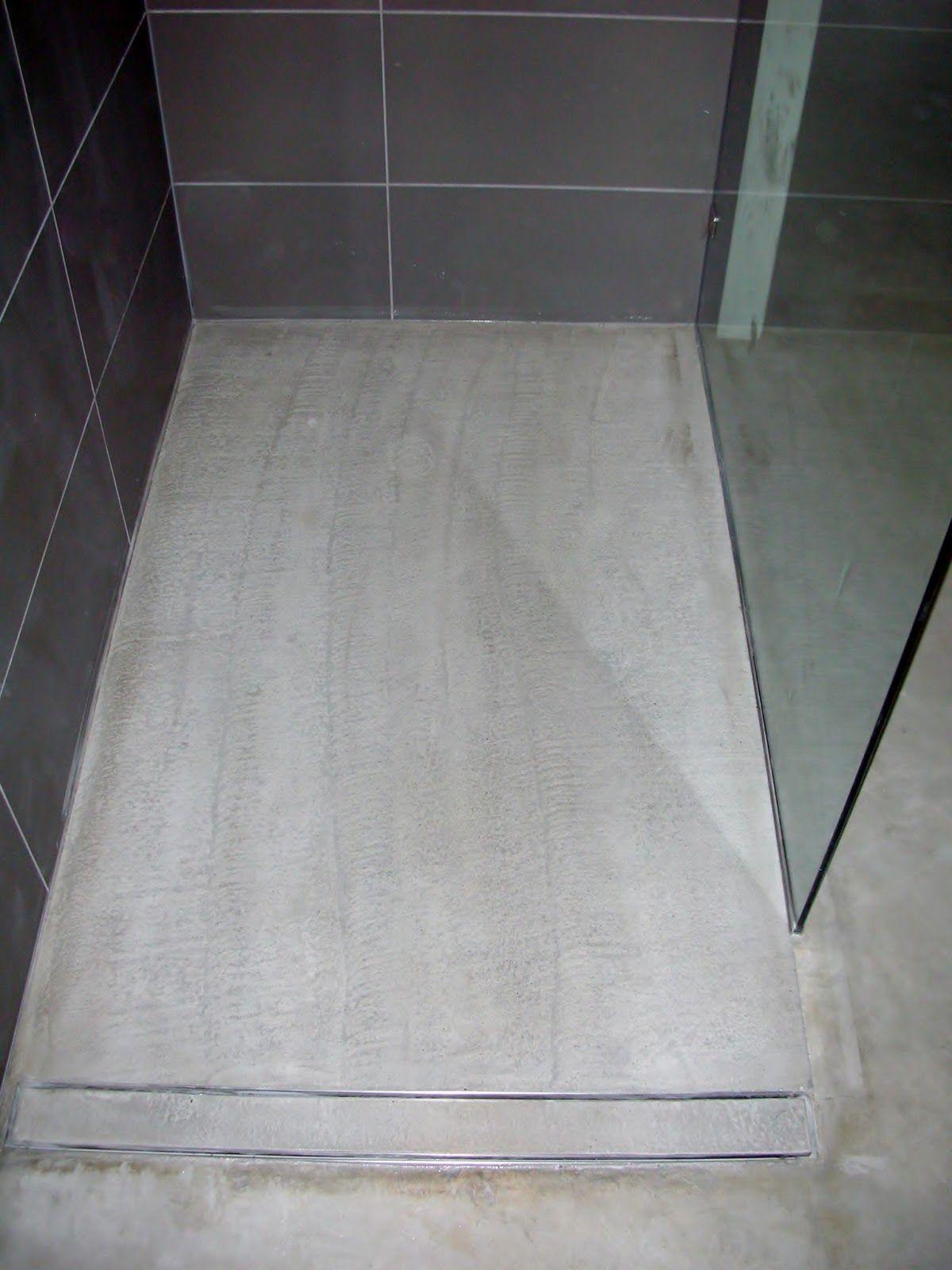 Image Of: Modern Shower Floor Drain Ideas. Concrete ...