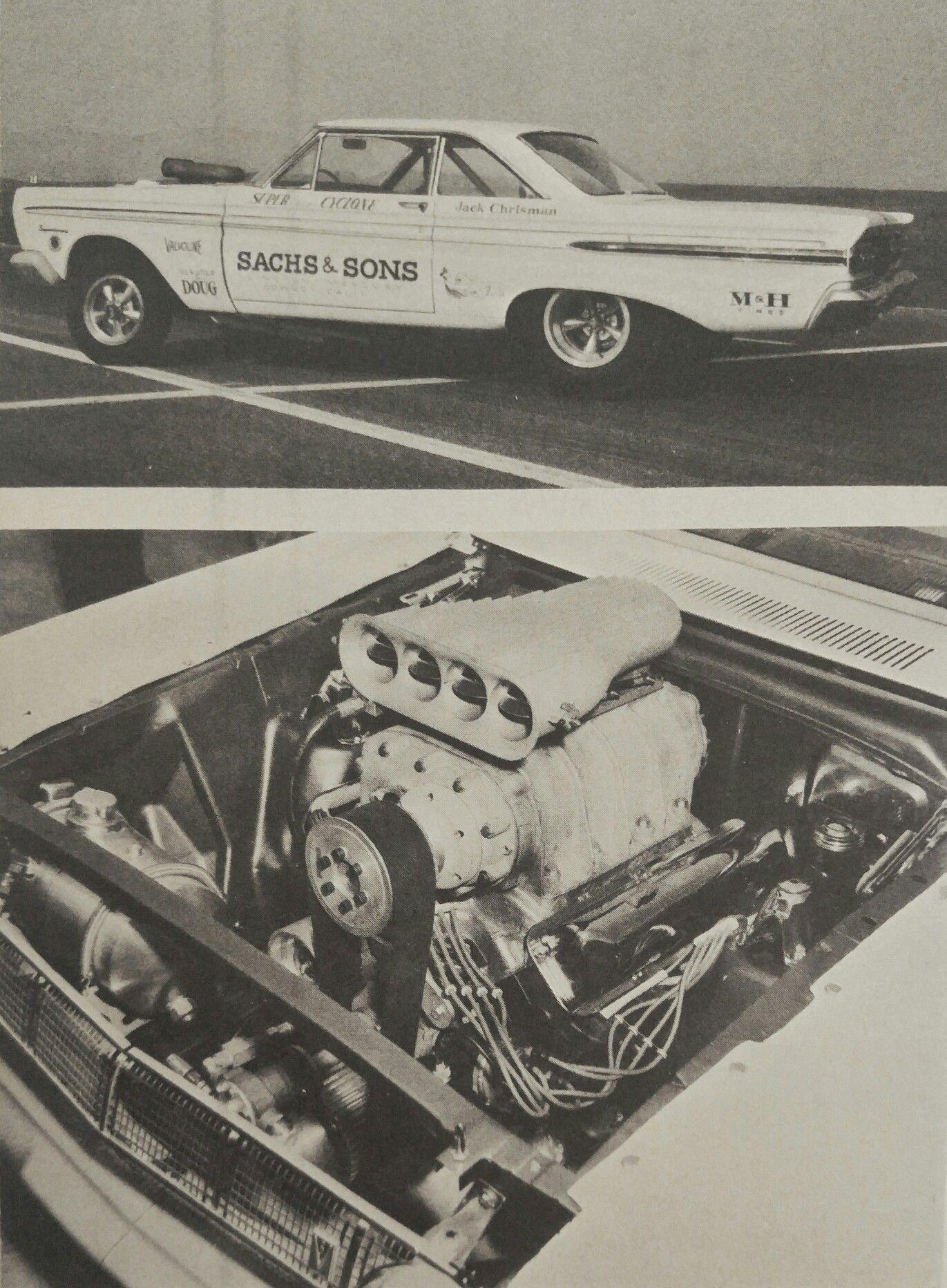 Jack Christman's 1964 Comet  | Drag Cars | Old race cars, Drag cars