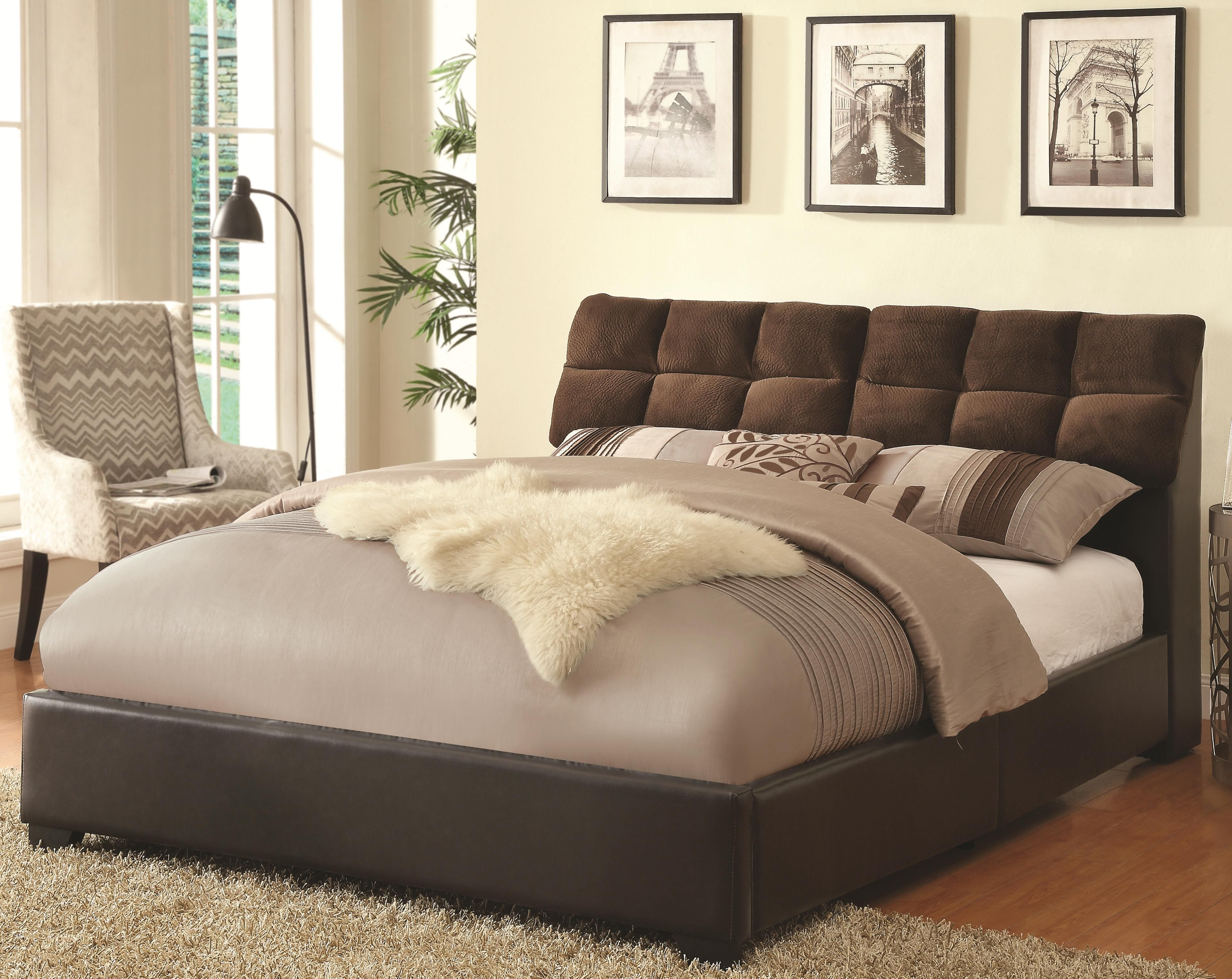 Upholstered Beds Queen Upholstered Bed by Coaster