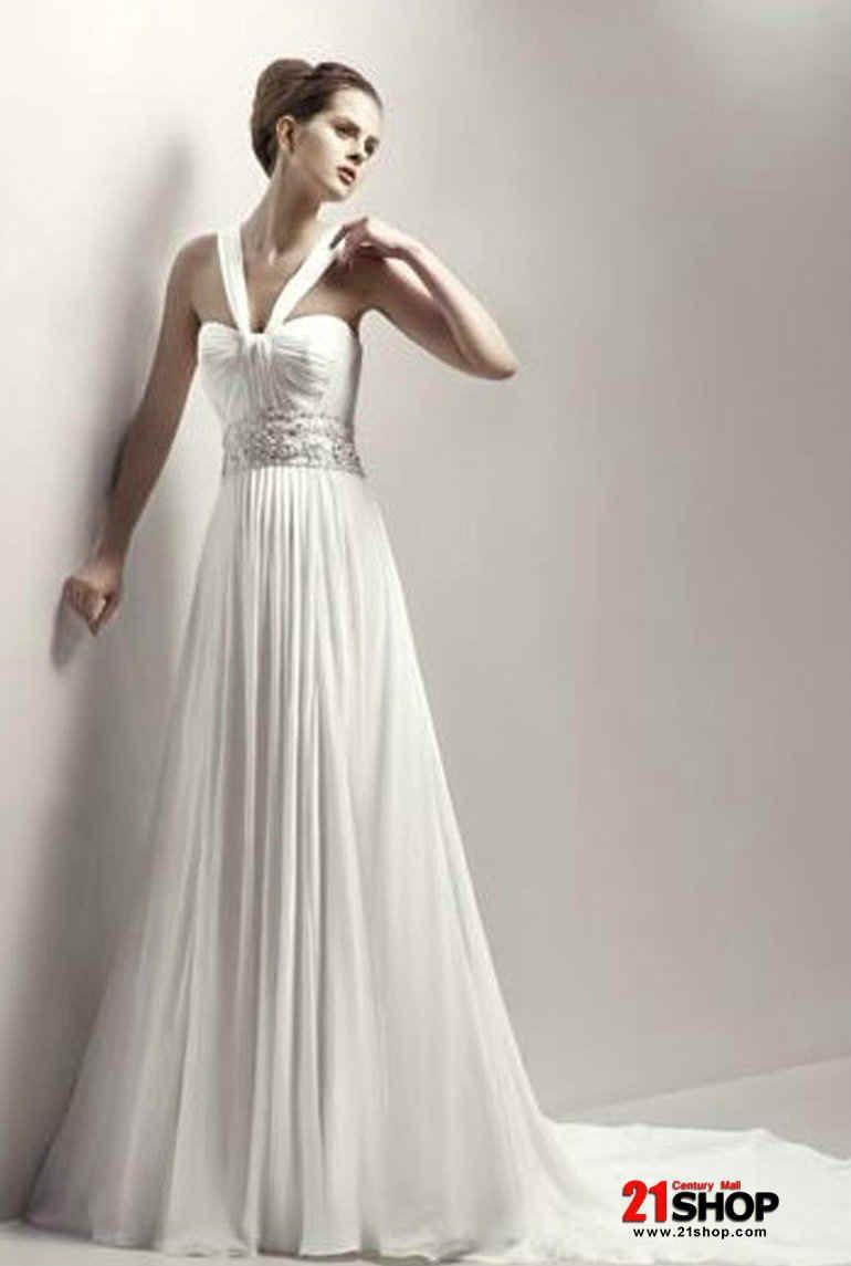 Chiffon wedding dress empire waist  roman dress empire waist  Google Search  Costumes  Pinterest