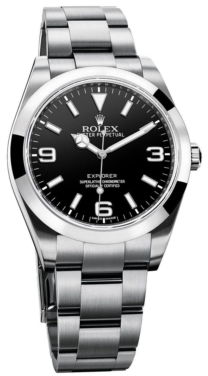 Rolex Oyster Perpetual Explorer Ref. 214270 — Новый сверхточный хронометр Ролекс   Reloj. Pulseras hombre. Hombres