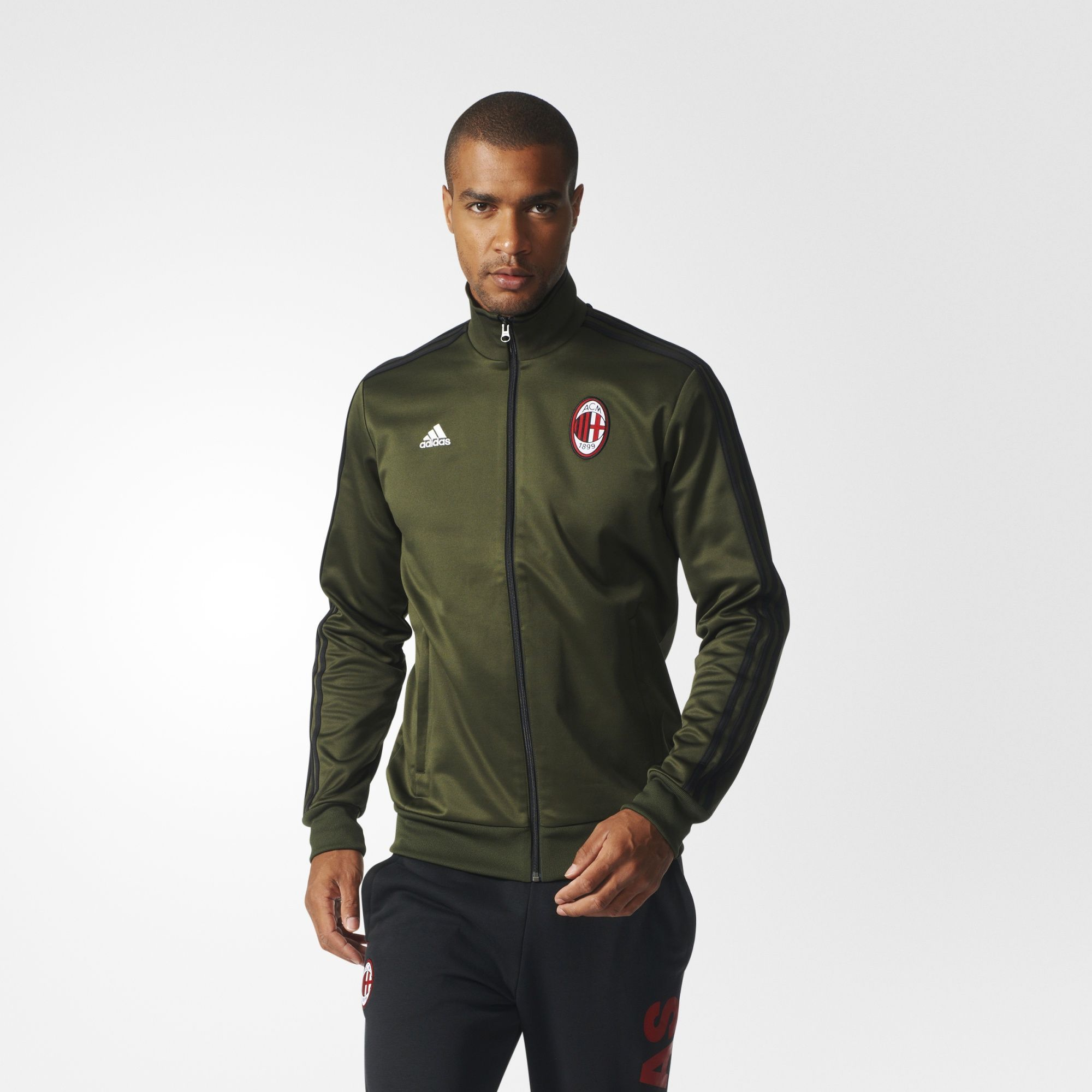 Jacket tracksuit Adidas of the team of the AC Milan of