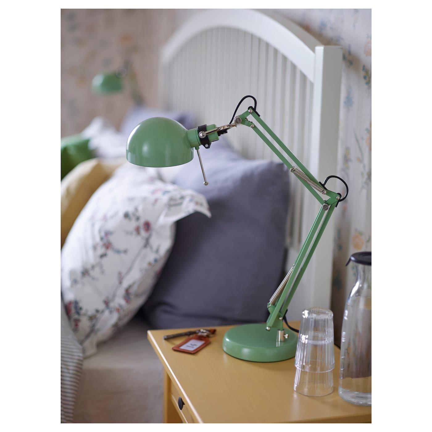 IKEA - FORSÅ Work lamp green | Lamp, Work lamp, Desk lamp