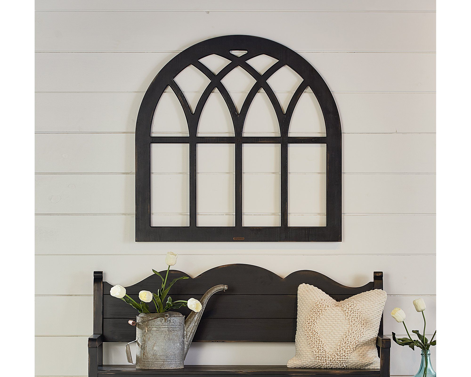 Cathedral window frame magnolia home magnolia homes