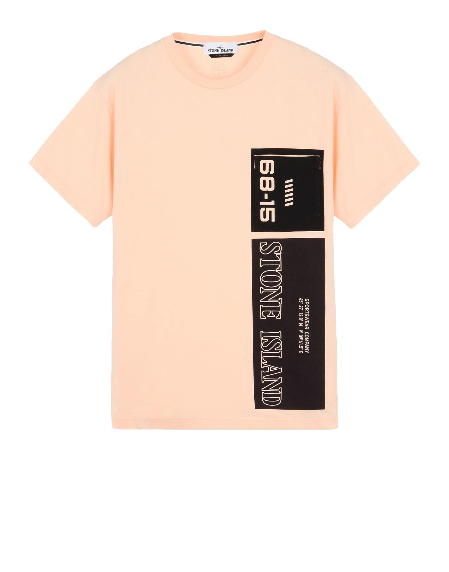 14f883031 Short Sleeve t Shirt Stone Island Men - Official Store | 18-19 ...
