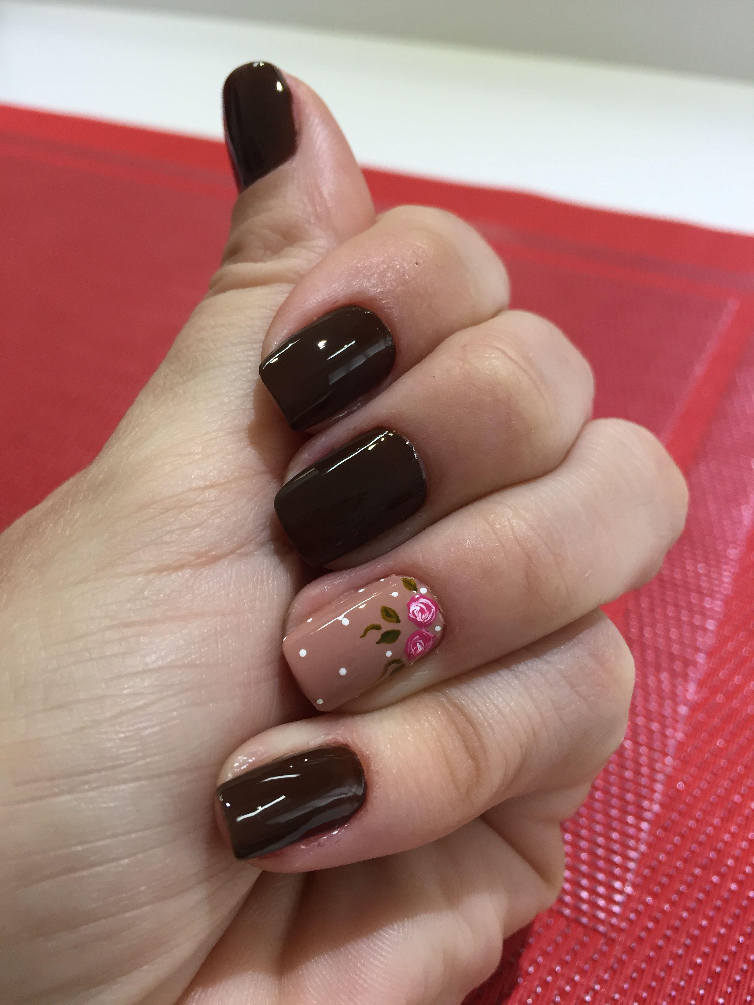 Sangre Toro Uñas Nails Nail Art Y Opi