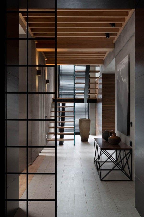 Modern summer cottage nott design studio