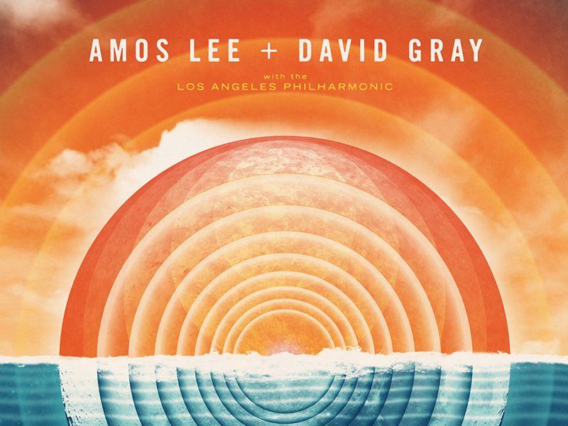 Amos Lee  David Gray Poster