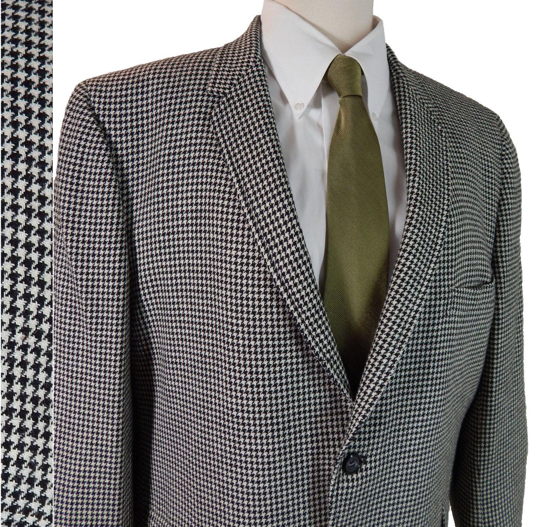 60s striped blazer size 34R, mens riding jacket, mens blazer, pinstriped navy blue mens jacket sport coat 1960s mad men