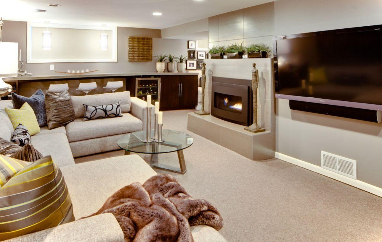 21 stunning modern basement designs | modern basement and basements
